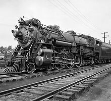 CRESCENT LIMITED STEAM LOCOMOTIVE  c. 1927 by Daniel-Hagerman