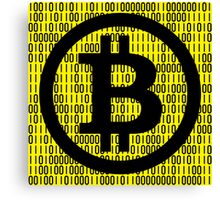 BITCOIN is HERE! Canvas Print