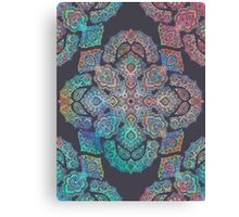 Bed Sheet Canvas Print