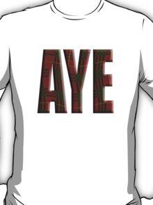 Tartan Aye - Scottish independence referendum T-Shirt