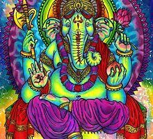 Lord Ganesha by Mutated-Sushi