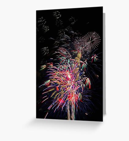 Burswood Chinese New Year Fireworks  Greeting Card