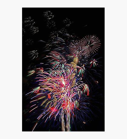Burswood Chinese New Year Fireworks  Photographic Print