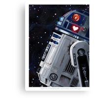 You R2 Cute Canvas Print