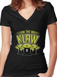 The Klaw Story - Alternate Version Women's Fitted V-Neck T-Shirt