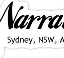 Surf Narrabeen Sticker