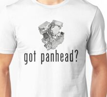 """1948 Harley-Davidson Panhead """"got panhead?"""" T-Shirt Unisex T-Shirt"""