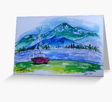 Lakeside Calm Greeting Card