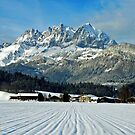 Wilder Kaiser-mountains - Austria by Arie Koene