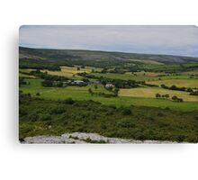 The Burren and it's Farmlands County Clare Ireland- Canvas Print
