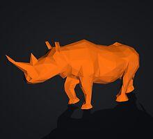 Rhino Low Poly by C4Dart