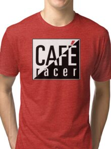 Cafe Racer Motorcycle T-Shirt or Hoodie Tri-blend T-Shirt