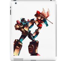 Starscream vs overlord iPad Case/Skin