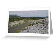 The Burren in County Clare Ireland Greeting Card