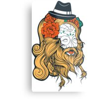 Cool Beard Metal Print