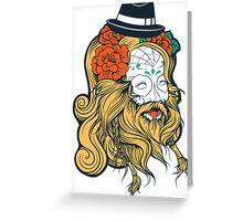 Cool Beard Greeting Card