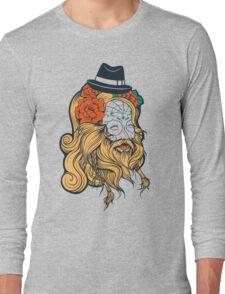 Cool Beard Long Sleeve T-Shirt
