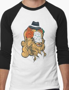 Cool Beard Men's Baseball ¾ T-Shirt