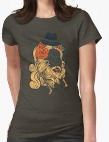 Cool Beard Womens Fitted T-Shirt