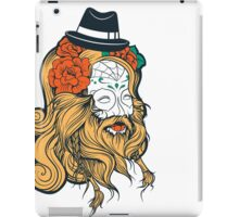 Cool Beard iPad Case/Skin