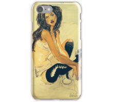 Black Stockings  iPhone Case/Skin