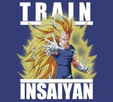 Train insaiyan - Vegeta super saiyan 3 by Ali Gokalp