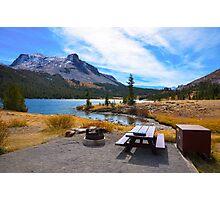 Blissful Lake Photographic Print
