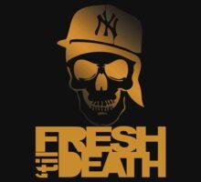 Fresh 'til Death - Orange by tumblingtshirts