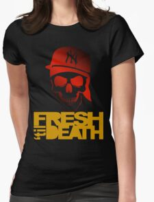 Fresh 'til Death - Red Womens Fitted T-Shirt