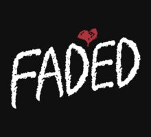 Faded <3 - White T-Shirt