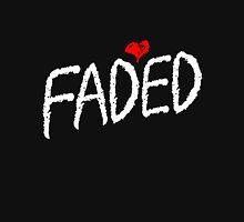 Faded <3 - White Unisex T-Shirt