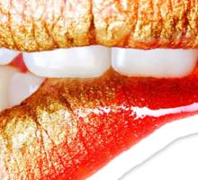 Sexy Red Lips Sticker
