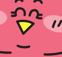 Baby girl owl Sticker