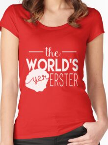 The World's Yer Erster Women's Fitted Scoop T-Shirt
