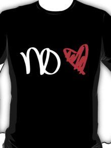 No Love - White T-Shirt