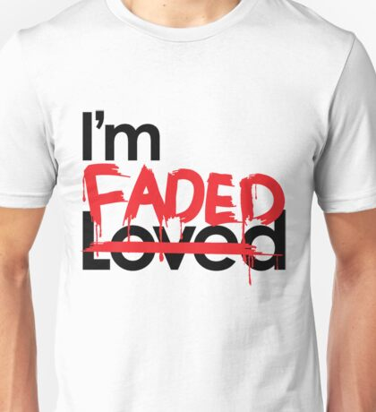 No Love, Only Faded Unisex T-Shirt