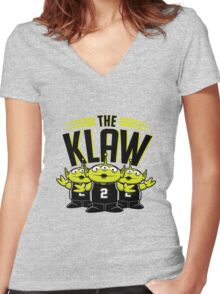The Klaw Story Women's Fitted V-Neck T-Shirt