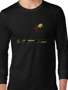 Flappy Bird Hunt Long Sleeve T-Shirt