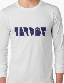 Timey Wimey Tardis Long Sleeve T-Shirt