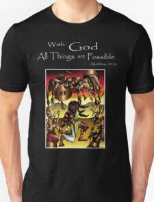 Sampson (With God all things are Possible) T-Shirt