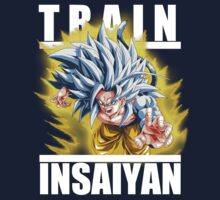 Train insaiyan - Goku super saiyan 5 by Ali Gokalp