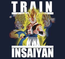 Train insaiyan - Gogeta by Ali Gokalp
