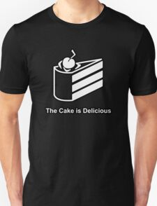 The Cake is Delicious - Portal T-Shirt