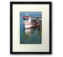 Come on Board! Framed Print