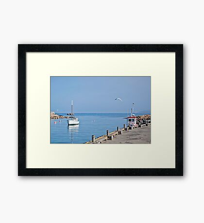 Beautiful Bicheno by the Sea Framed Print