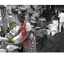 Herb Wala Photographic Print