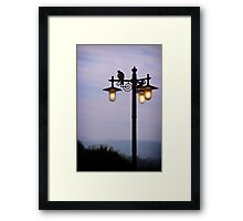 Early morning ...in Tuscany Framed Print