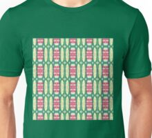 pink and green ovals Unisex T-Shirt
