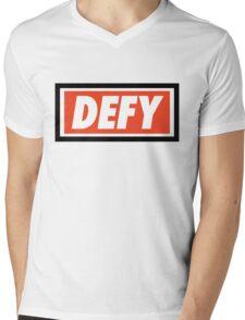 DEFY - Original Mens V-Neck T-Shirt