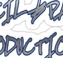 Pencil & Paper Productions logo (alternate) Sticker